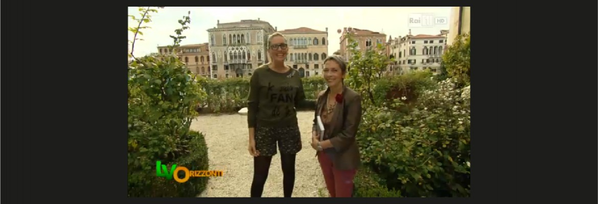 I giardini segreti di Venezia su Rai1