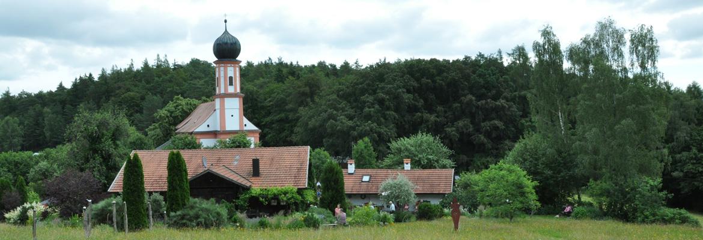 Nella verde Baviera, in un trionfo di giardini e natura