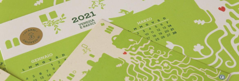 """Il calendario 2021 """"Venezia è radici"""" celebra i 20 anni del Club"""